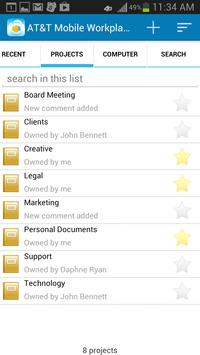 AT&T Mobile Workplace apk screenshot