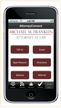 Attorney Michael Franklin poster
