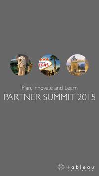 Tableau Partner Summit 2015 poster