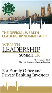Wealth Leadership Summit poster