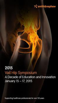 2015 Vail Hip Symposium poster