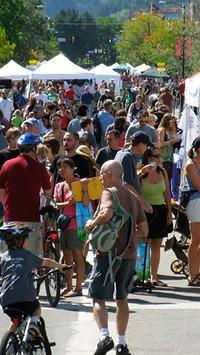 Boulder Green Streets Ciclovia poster
