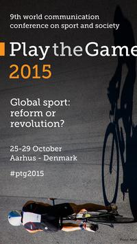 Play the Game 2015 poster