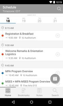 SPEA Master's Program App apk screenshot