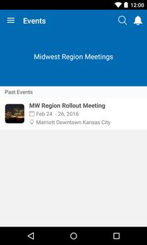 Midwest Region Meeting App poster