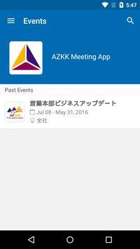 AstraZeneca Japan Meeting App poster