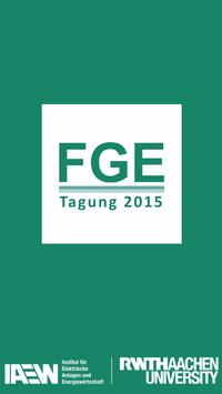 FGE-Tagung 2015 poster