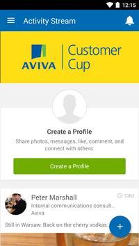 Aviva Customer Cup 2015 poster