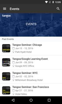 Tangoe Events apk screenshot