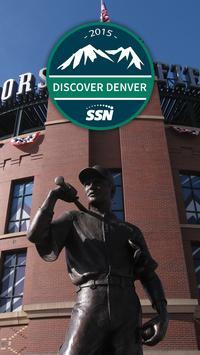 Discover Denver 2015 poster