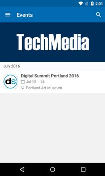 TechMedia Events apk screenshot