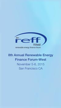 8th Annual REFF-West poster