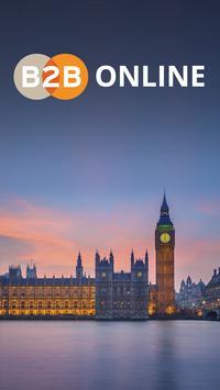 B2B Online Europe poster