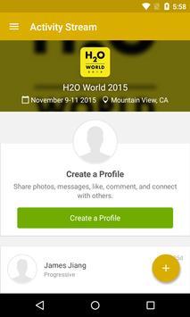 H2O World 2015 poster