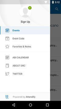 ABI EVENTS apk screenshot