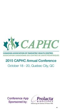 CAPHC 2015 poster