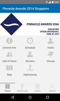 Pinnacle Awards 2014 Singapore apk screenshot