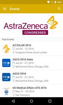 AstraZeneca Congresses poster
