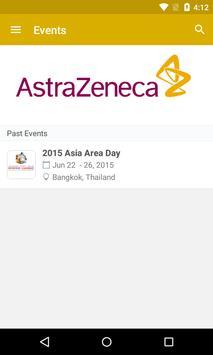 AstraZeneca Asia Area poster