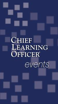 Chief Learning Officer events poster