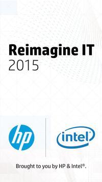 Reimagine IT 2015 poster