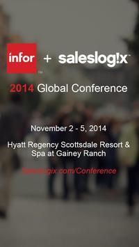 Infor + Saleslogix Conference poster