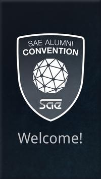 SAE Alumni Convention poster