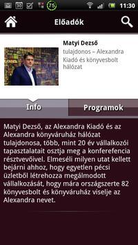 Országos Networking Konf. apk screenshot