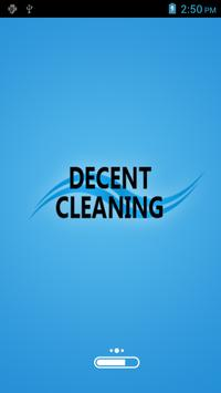 Decent Cleaning Pty Ltd. poster