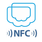 POS IN CLOUD with NFC Checkin icon