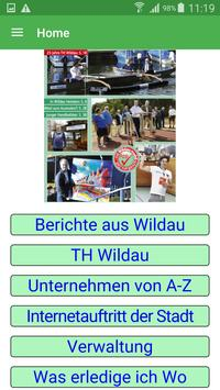 Wildau poster