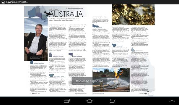 Australia's Mining Monthly apk screenshot
