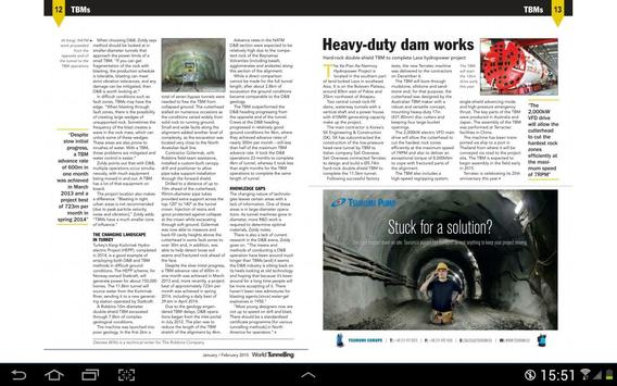 World Tunneling & Trenchless apk screenshot