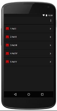Romeo and Juliet Audio Book apk screenshot