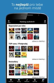 Audiolibrix - audioknihy apk screenshot