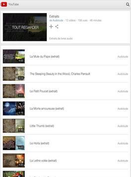 Audiolivres apk screenshot