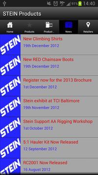 STEIN Products apk screenshot