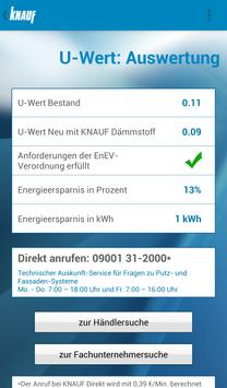 Knauf Energiesparrechner apk screenshot