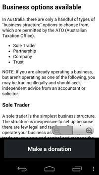 Business Basics Australia apk screenshot