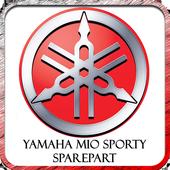 Yamaha Mio Sporty Sparepart icon