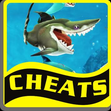 Cheats Hungry Shark World poster