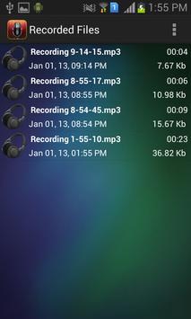 Auto Smart Recorder apk screenshot