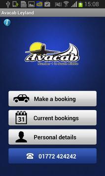 Avacab poster