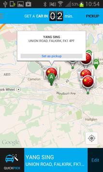 Bruce Taxis apk screenshot