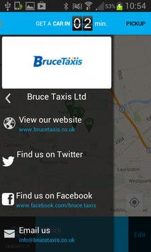 Bruce Taxis poster