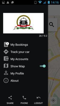 Central Taxis apk screenshot
