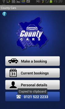 County Cars poster