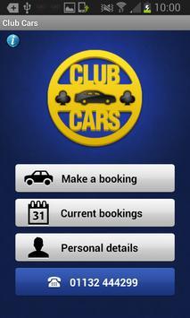 Club Cars poster