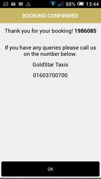 GOLDSTAR TAXIS apk screenshot