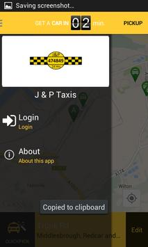 J&P Taxis apk screenshot